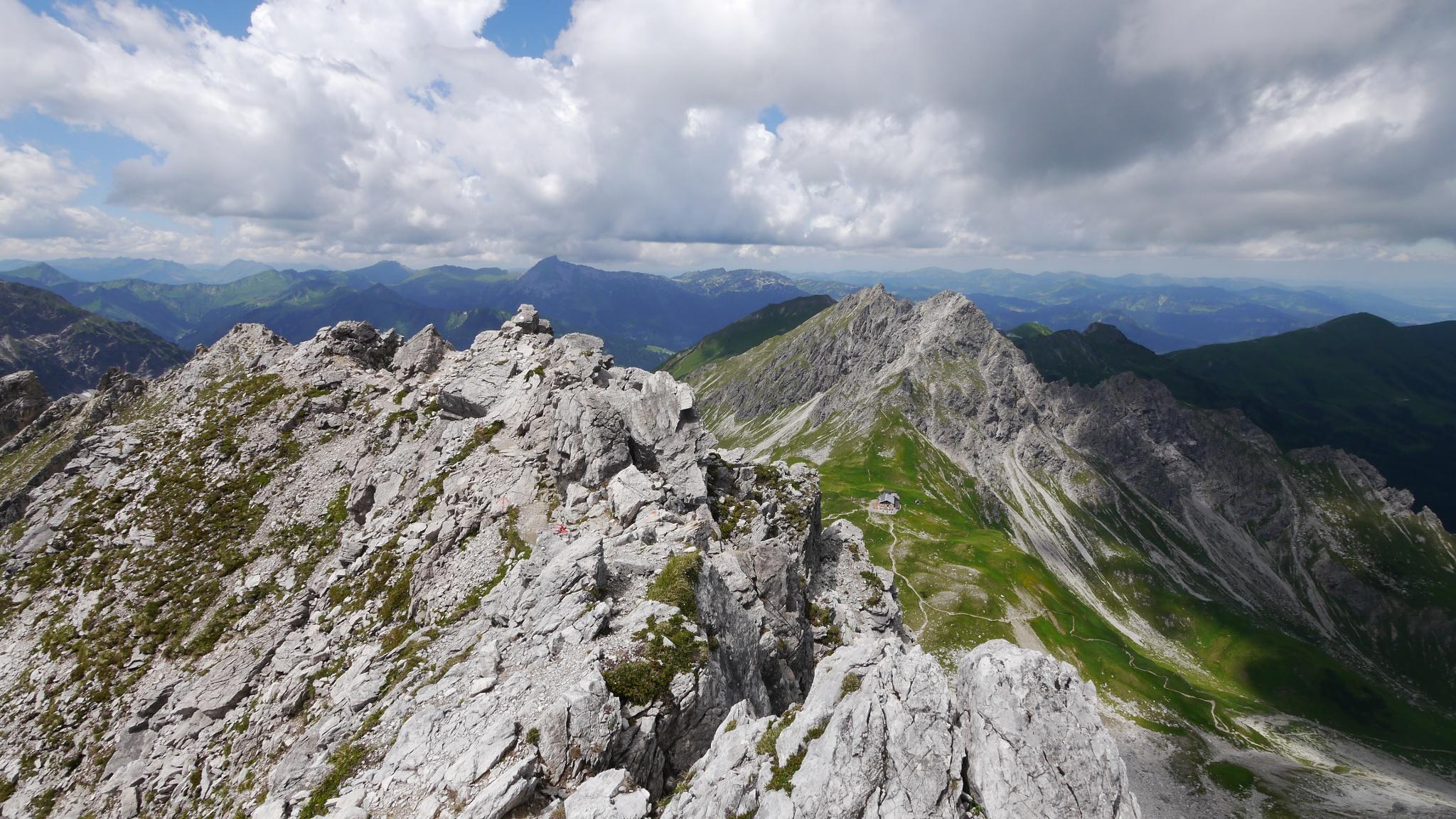 Klettersteig Kleinwalsertal : Kleinwalsertal mindelheimer klettersteig