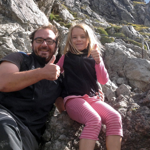 Klettersteig Kleinwalsertal : Klettern im kleinwalsertal klettersteige bergabenteuer