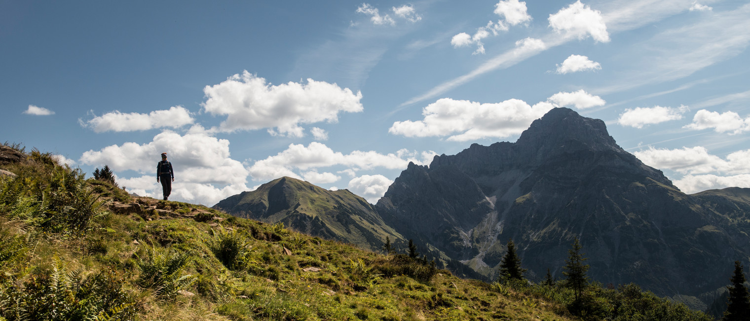 Duuratal Widderstein in the background | © Kleinwalsertal Tourismus eGen | Photographer: Andre Tappe
