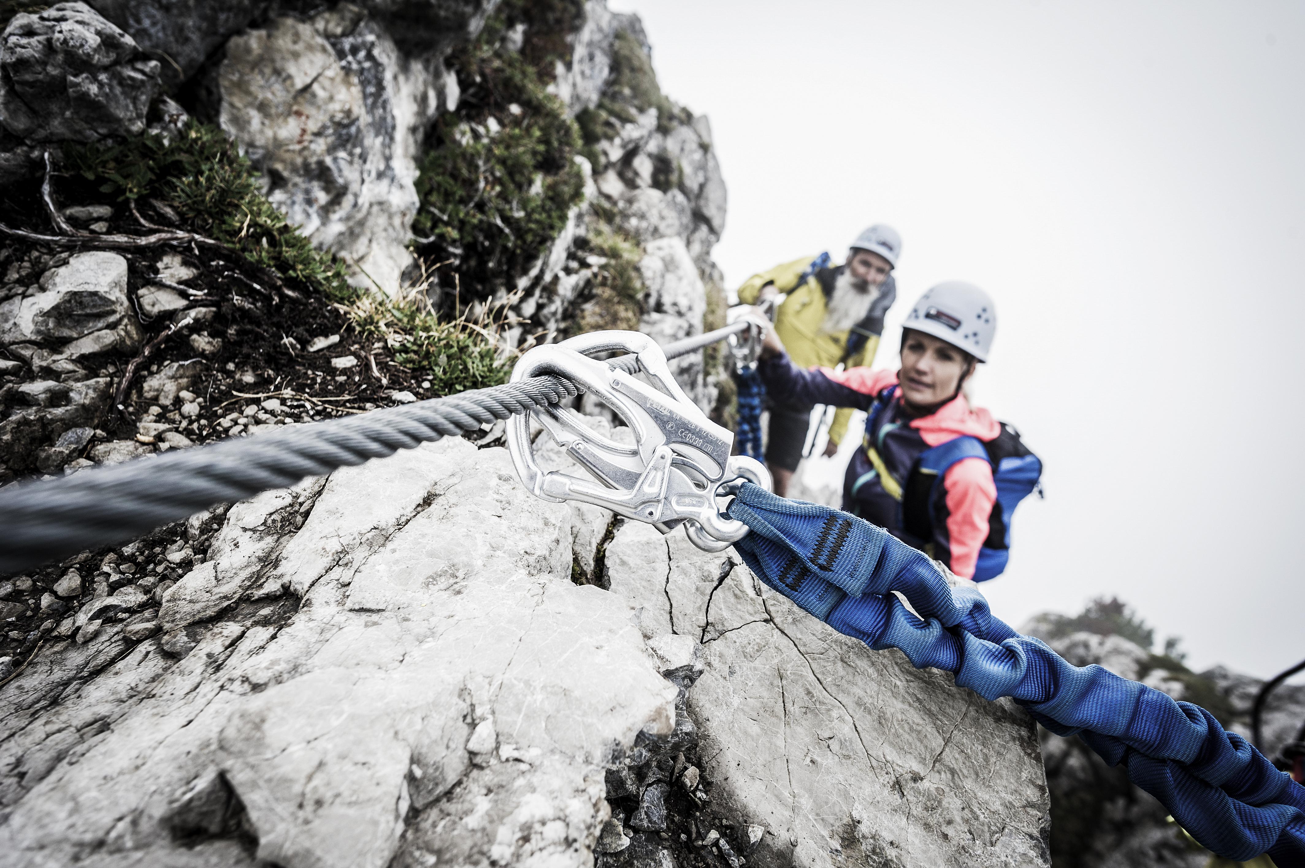 Kletterausrüstung Klettersteig : Klettern im kleinwalsertal klettersteige bergabenteuer