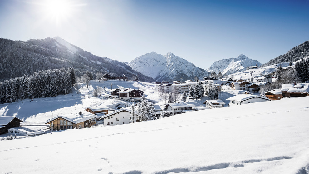 Panoramic view of Egg | © Kleinwalsertal Tourismus eGen | Photographer: Dominik Berchtold