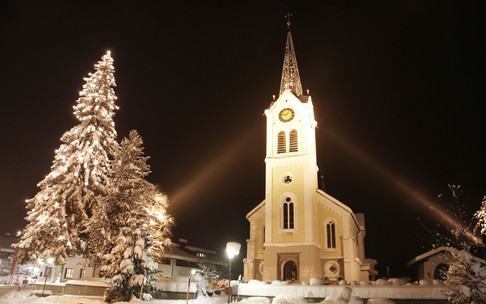 Church Riezlern Winter