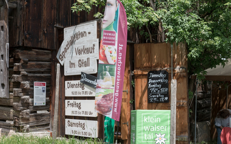 Farm shop at the Gourmet Days | © Kleinwalsertal Tourismus eGen | Photographer: Frank Drechsel