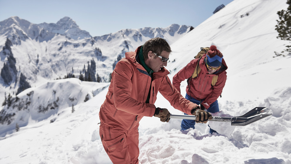 Avalanche safety training in the Kleinwalsertal | © Marmot | Photographer: Frank Kretschmann