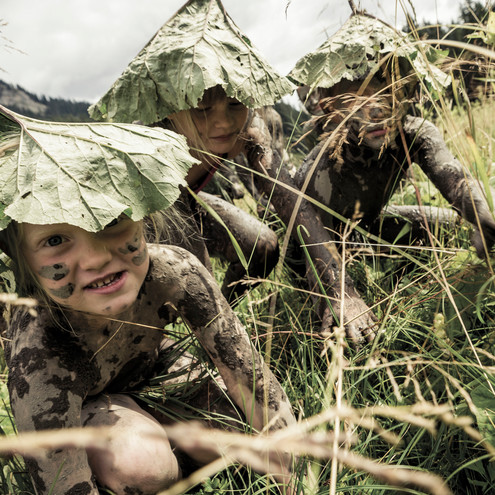 Wilderness day for children | © Kleinwalsertal Tourismus eGen | Photographer: Oliver Farys