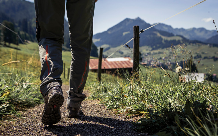 Hiking in the summer | © Kleinwalsertal Tourismus eGen | Photographer: Oliver Farys