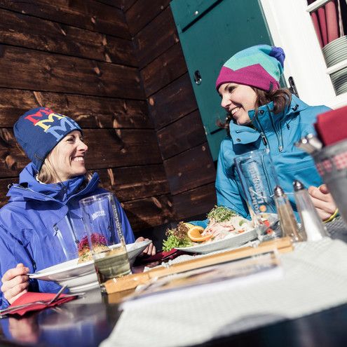 Lunch at Sonnaalp | © Kleinwalsertal Tourismus eGen | Photographer: Oliver Farys