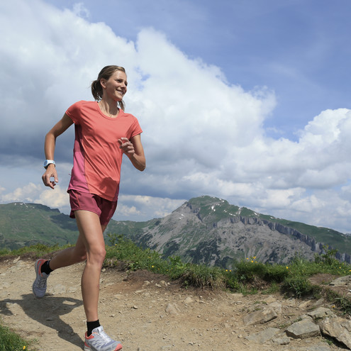 Trail running for women | © Kleinwalsertal Tourismus eGen | Photographer: Stephan Repke