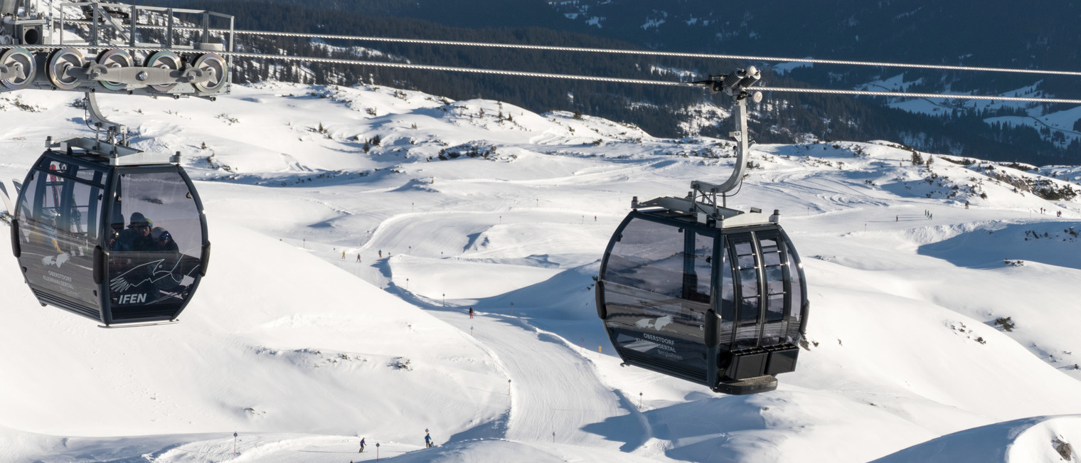 Ifen ski area | © Oberstdorf Kleinwalsertal mountain railways | Photographer: Jennifer Tautz