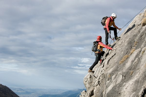 Via ferrata mountain school | © Kleinwalsertal Tourismus eGen