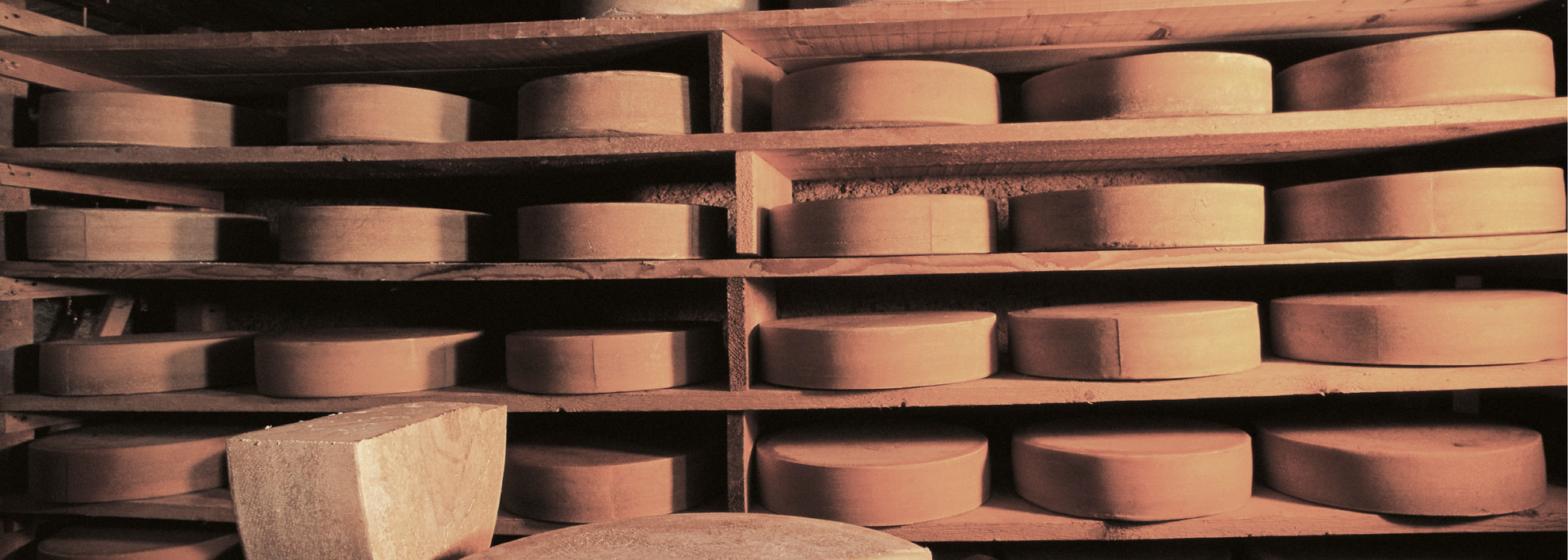 In the cheese cellar | © Kleinwalsertal Tourismus eGen |Photographer: Hans Wiesenhofer