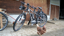 Hut tour with the E-Bike | © Kleinwalsertal Tourismus eGen