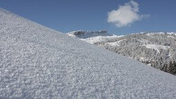 Snow cover at the Ifen | © Kleinwalsertal Tourismus eGen | Photographer: Frank Drechsel