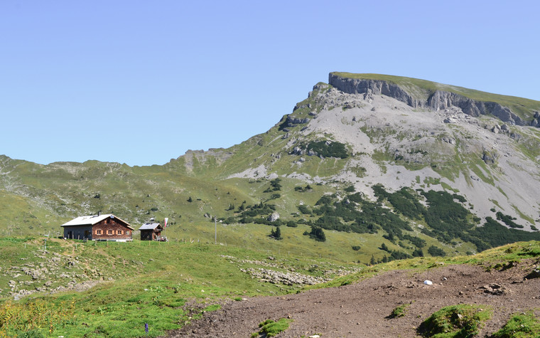 Schwarzwassertal with view to the Ifen | © Kleinwalsertal Tourismus eGen