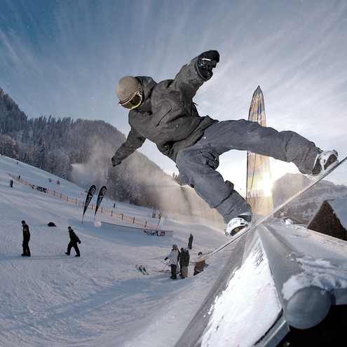 Crystal Ground Snowpark in Riezlern | © Crystal Ground