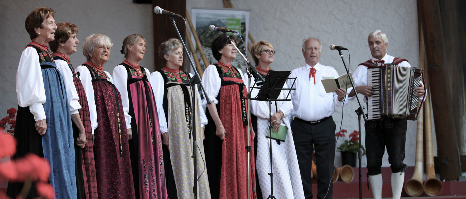 Walser Choir at the Alphorn Festival | © Kleinwalsertal Tourismus eGen | Photographer: Frank Drechsel