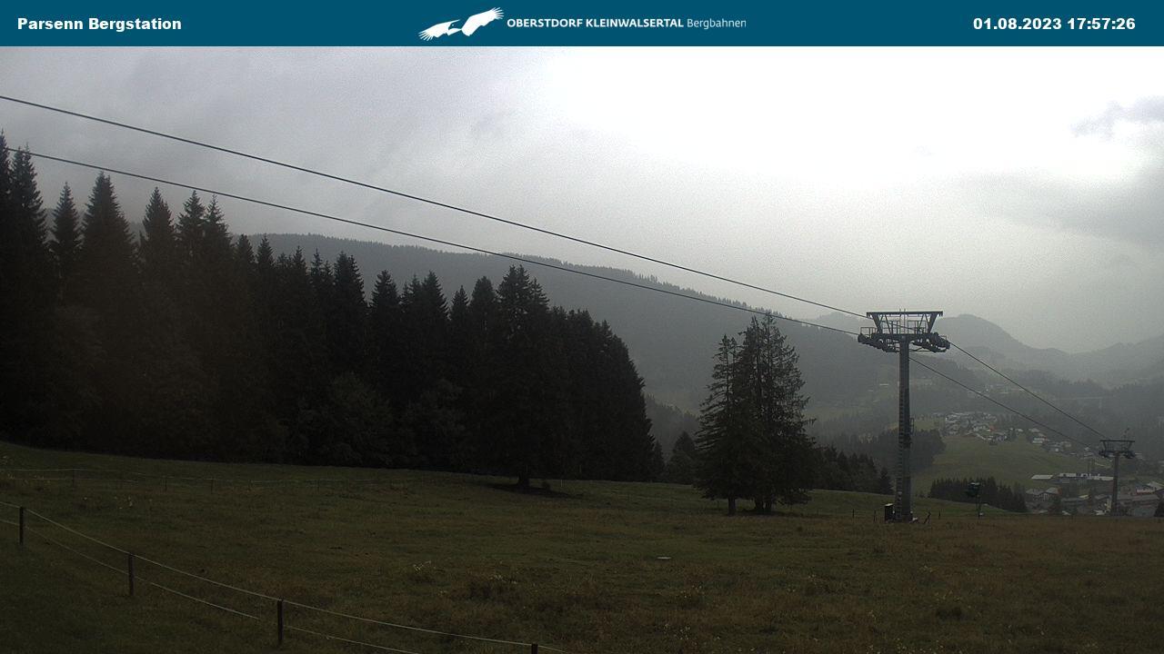 Webcam  Kleinwalsertal - heuberg-arena bergstation - 1400 m