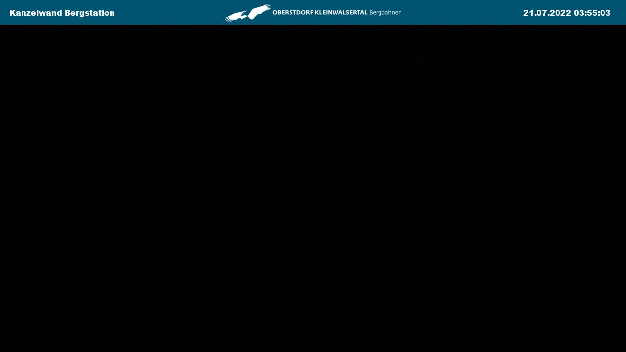 Webcam Kleinwalsertal - Kanzelwandbahn bergstation - 2047 m