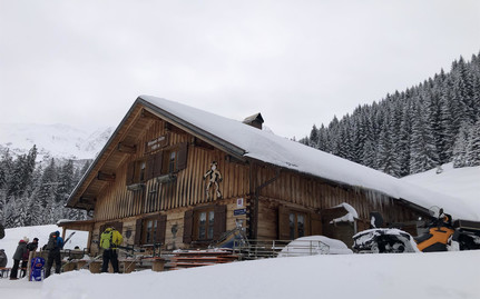 Bärgunthütte Winter