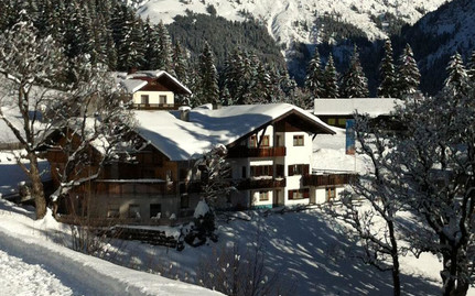 Gasthof Cafe Alpenwald Winter