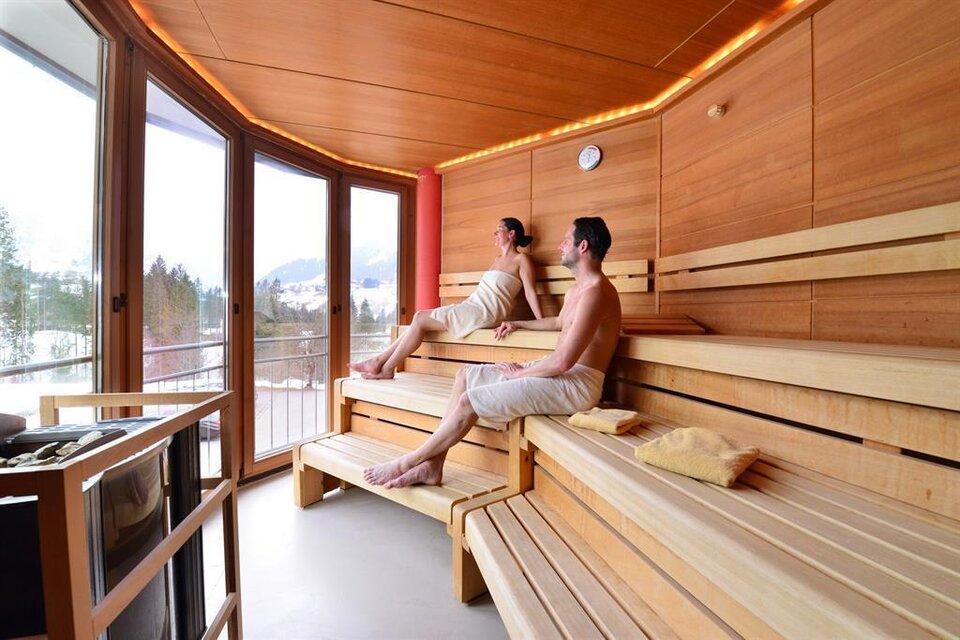 sauna wellness im ifa hotel alpenhof wildental kleinwalsertal. Black Bedroom Furniture Sets. Home Design Ideas