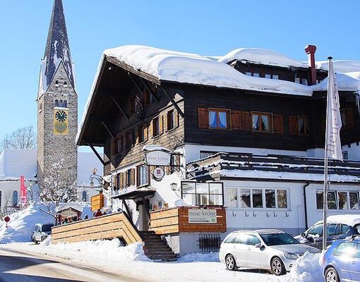 Hotel Neue Krone Mittelberg Bewertung