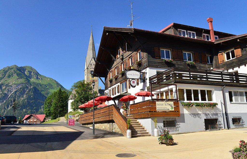 Hotels Kleinwalsertal Mittelberg